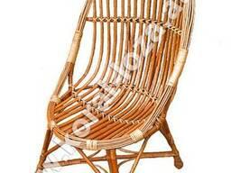 Кресло плетеное из лозы 682-34