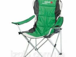 Кресло складное Palisad Camping с подлокотниками и подстаканником