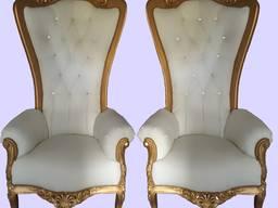 Кресло трон барокко