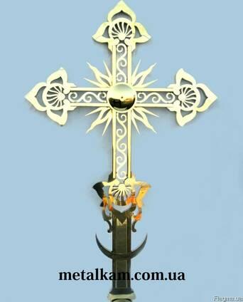 Крест на купол (накупольный крест)