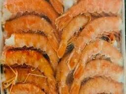 Креветка королевская Langostino Austral C1L без головы свежемороженая