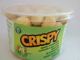 Арахіс Сrispy зі смаком сметани та зелені 100г (18шт/ящ)