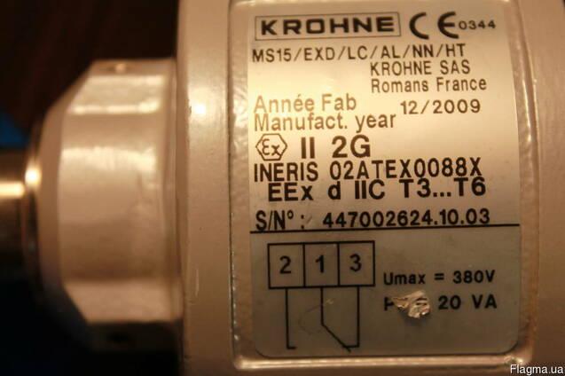 Krohne MS15/exd предельный выключатель, сигнализатор уровня