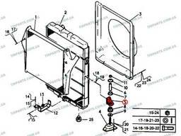 Кронштейн радиатора Renault Magnum (5010137755 | 5010137755)