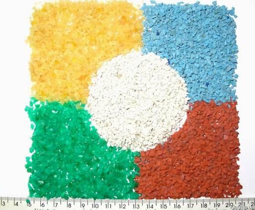 Крошка резиновая цветная EPDM 3мм. 40грн/кг