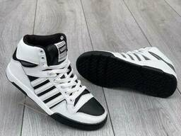 Кроссовки кожаные универсальные (женские, подростковые на. ..