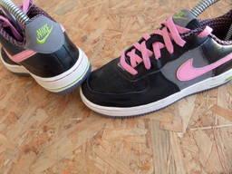Кроссовки Nike Air Force 1 оригинал натур кожа 32 размер-20