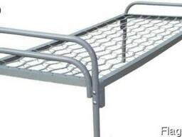 Кровать (190*70) спинка металлическая