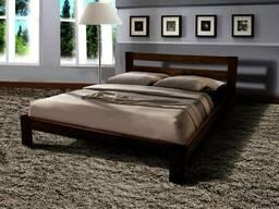 Кровать деревянная 160*200 с матрасом