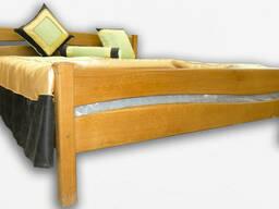 """Кровать деревянная Фортеця """"Волна""""140*200 дуб 8440826"""