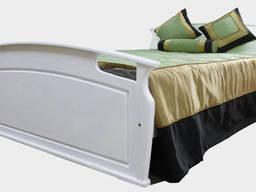 """Кровать деревянная Фортеця """"Вояж"""" 140*200 дуб 8460019"""