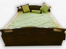 """Кровать деревянная Фортеця """"Вояж"""" 160*200 дуб 8440828"""