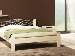 """Кровать для спальни """"Амелия"""". Производство деревянных кроват"""