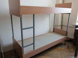 Кровать двухъярусная 1900\800(700) из ДСП/метал. карк.