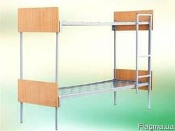 Кровать двухярусная 190х70 спинка ДСП