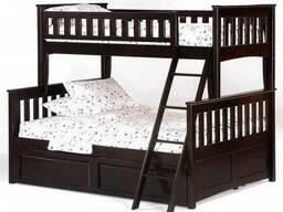 Кровать двухъярусная Жасмин с ящиками