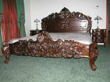"""Кровать двуспальная деревянная """"Престиж"""" - фото 1"""