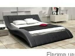 Кровать Frost(фрост) с мягким изголовьем в Украине. Купить