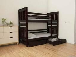 Кровать из дерева Адель Дуо двухъярусная детская/подросткова