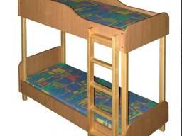 Кровать из ДСП дерево 2-яр. 1400*600