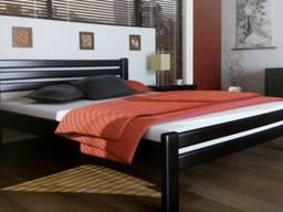Кровать Мария из натурального дерева