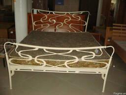 Кровать кованая. Ліжко коване.