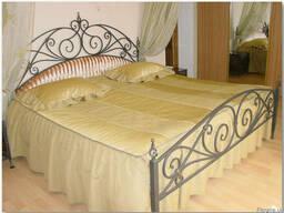 Кровать кованая.Любые кованые изделия на заказ.