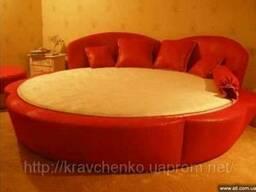 Кровать круглая Розанна. Круглая кровать под заказ в Киеве