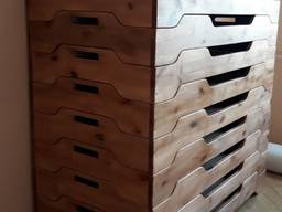 Кровать-лоток СОН детская 1-м. (натуральная ольха) 1400*600