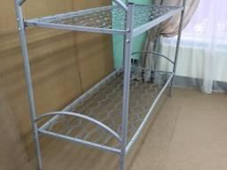 Кровать металлическая двухъярусная 1900х700см