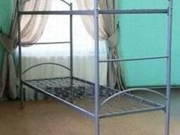 Кровать двухъярусная металлическая разборная 190х70