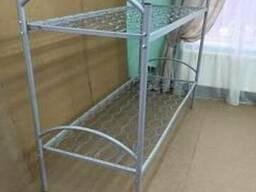 Кровать металлическая двухъярусная ЕКП 70*190