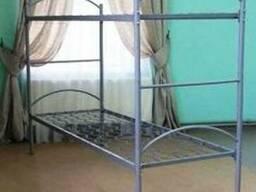 Ліжко металеве, двох'ярусне ліжко, ЄКП 190 * 90