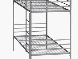 Кровать металлическая двухярусная Синд - фото 1