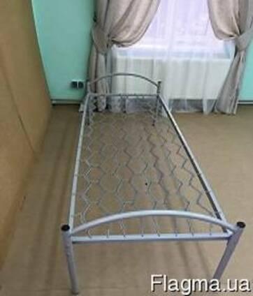 Кровать металлическая одноярусная ЕКП