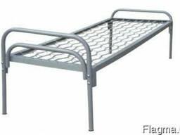 Кровать односпальная 190/70 спинка металлическая