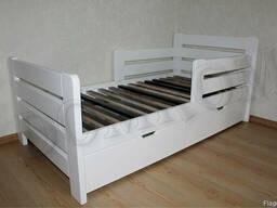 """Кровать односпальная """"Джек"""" белый цвет"""