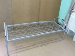Кровать металлическая одноярусная размер 1900*700см.