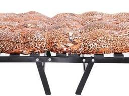 Кровать раскладная Раскладушка на ламелях с матрасом