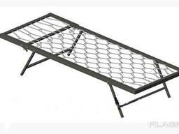 Кровать-раскладушка металлическая