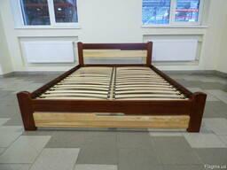Кровать ясень массив