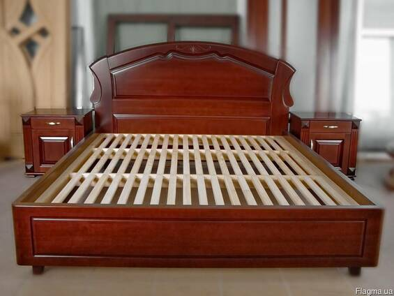 Кровати из натурального массива (сосна, ясень, дуб)