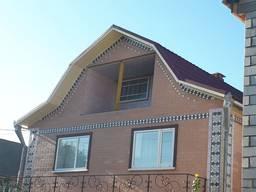 Кровельные, фасадные работы, монтаж водосточных систем в Пав