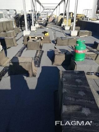 Кровельные работы кровля рубероидом ремонт Складов гаражей, балконов.