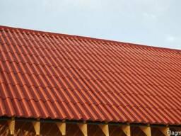 Кровля волокнисто-цементная Eco-Dach