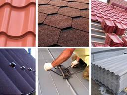 Кровля всех видов крыш, гарантия, строительство крыш