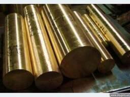 Круг бронзовый от 5мм до 130мм, БрАЖ, ОЦС. Порезка в размер.