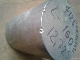 Круг цирконий чистый ф 123мм