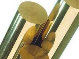 Круг латунный 10мм латунь ЛС59-1