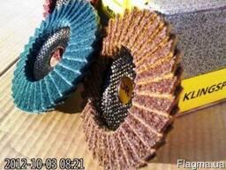 Круг шлифовальный лепестковый скотчбрайт SMT 800 Klingspor